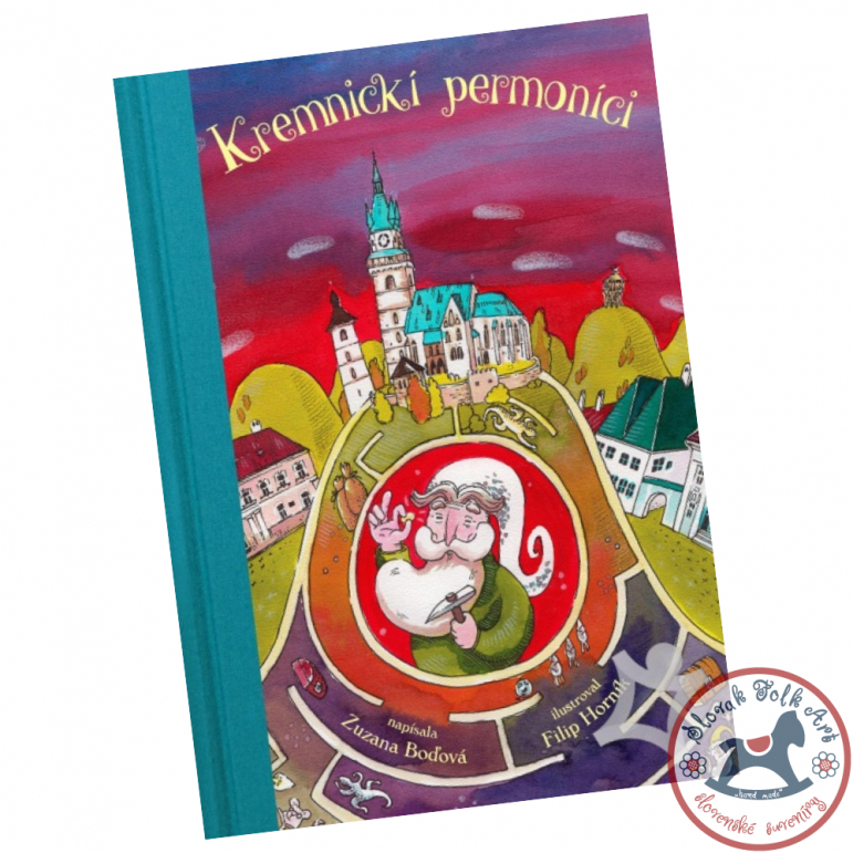 The book Kremnica Permons, Zuzana Boďová