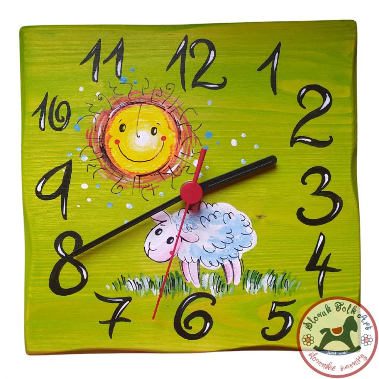 Clock Medow (green)