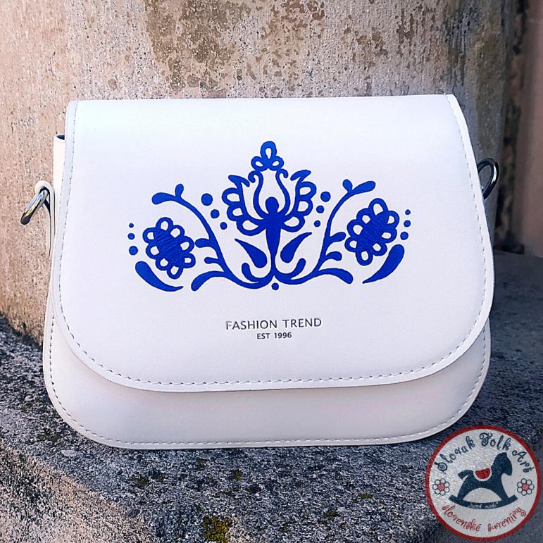 Handbag Folk Love (biela)