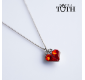 Pendant FOLKIE red heart +...