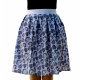 Skirt Blue heart