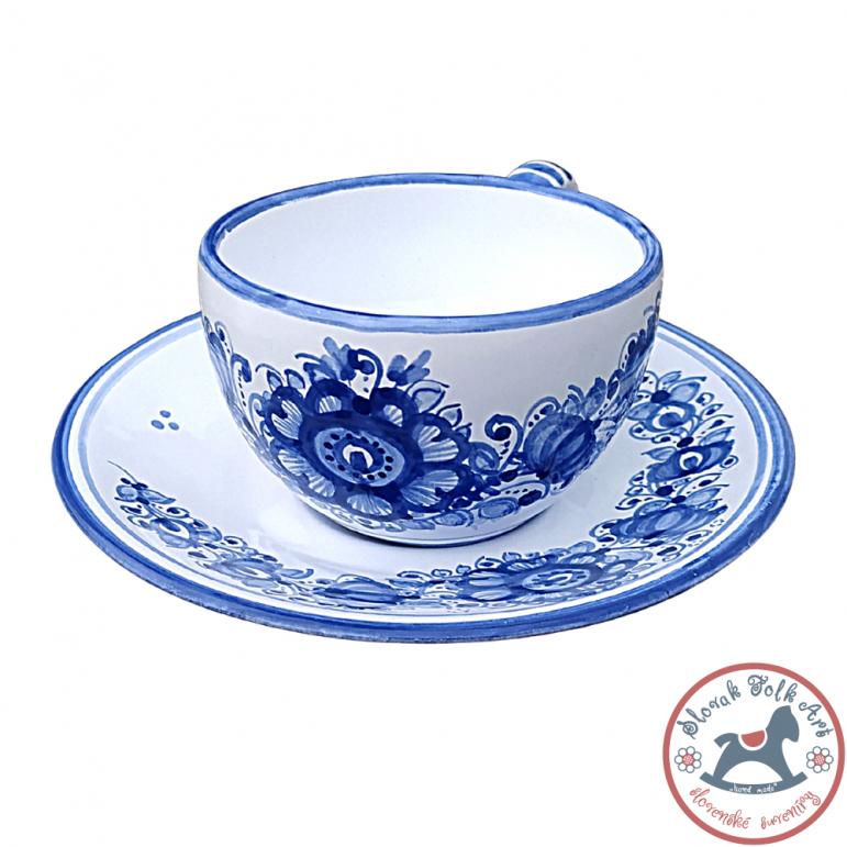 Cup small Majolic blue