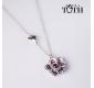 FOLKIE pendant with purple...