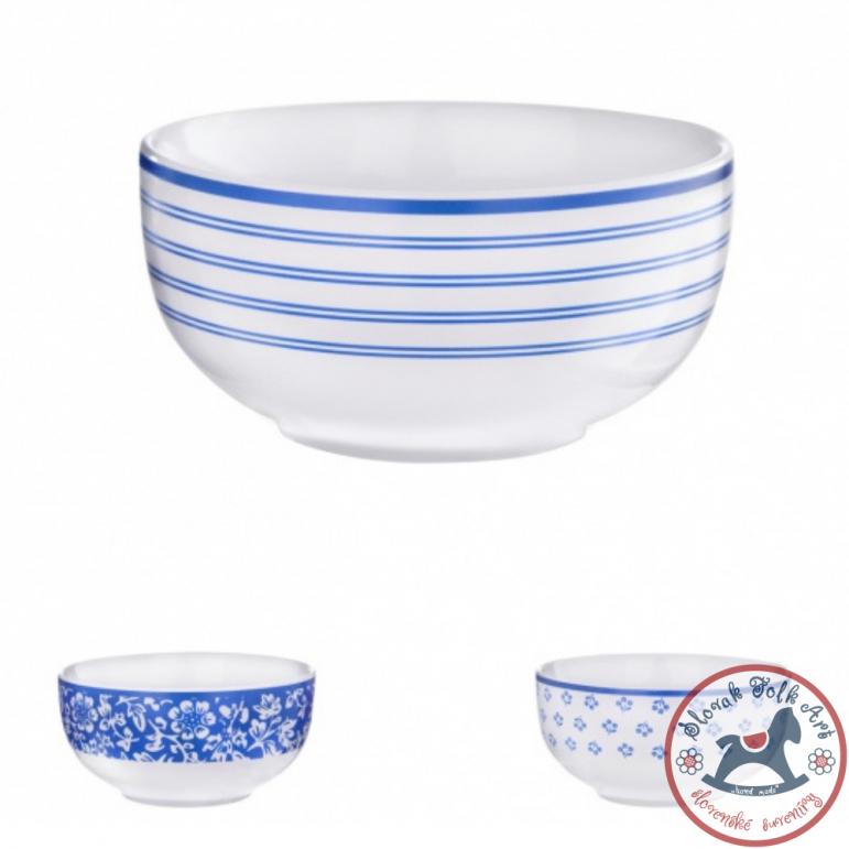 Miska modrý dizajn bez ušiek