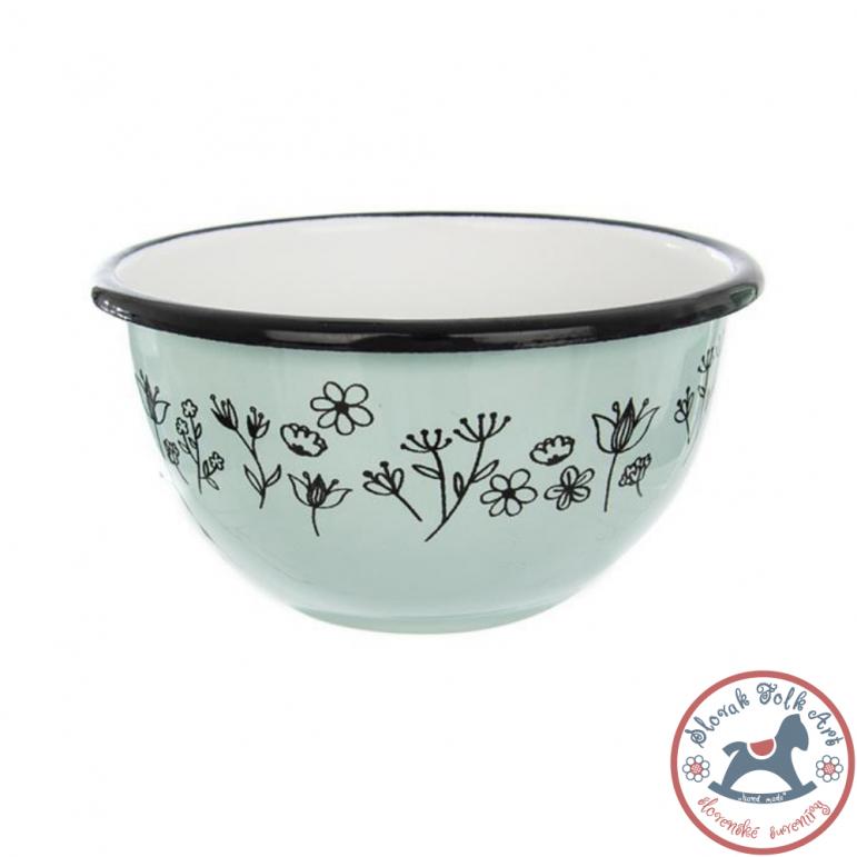 Enamel bowl LUKA (green)