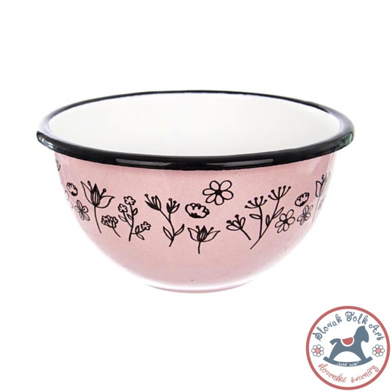 Enamel bowl LUKA (rose)