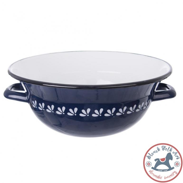Enamel bowl FOR MIXING (blue)