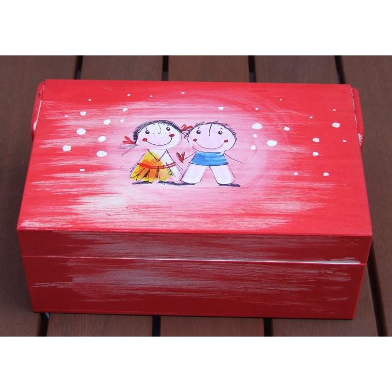 Krabička malá Ovečka (orandžová)