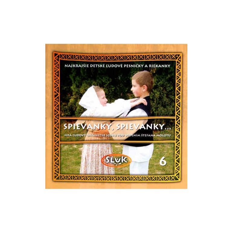 CD Sľuk Spievanky, spievanky