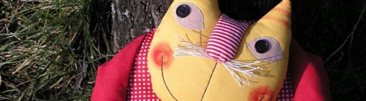 Textilné hračky a vankúšiky